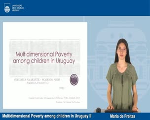 Multi poverty among children in Uruguay - Parte II